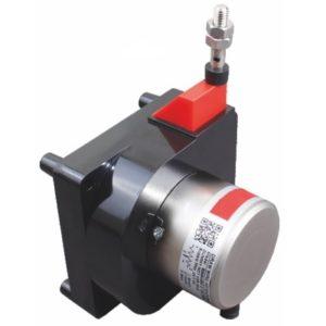Capteur de deplacement lineaire a cable
