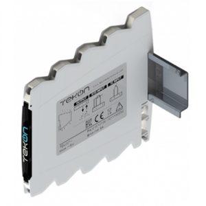 Conditionneur de signal température compact au montage rail din