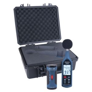 sonomètre numérique en kit avec un Calibrateur