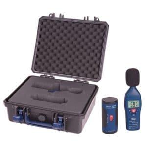 sonomètre digital en kit avec valise de transport