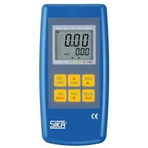 thermomètre de précision avec sonde thermocouple et pt100