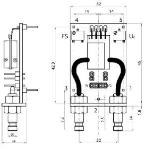 module de capteur de pression differentielle