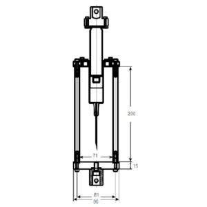 resistance d'une seringue en traction et compression