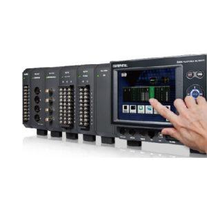 photo d'une centrale d'acquisition de données avec une écran tactile